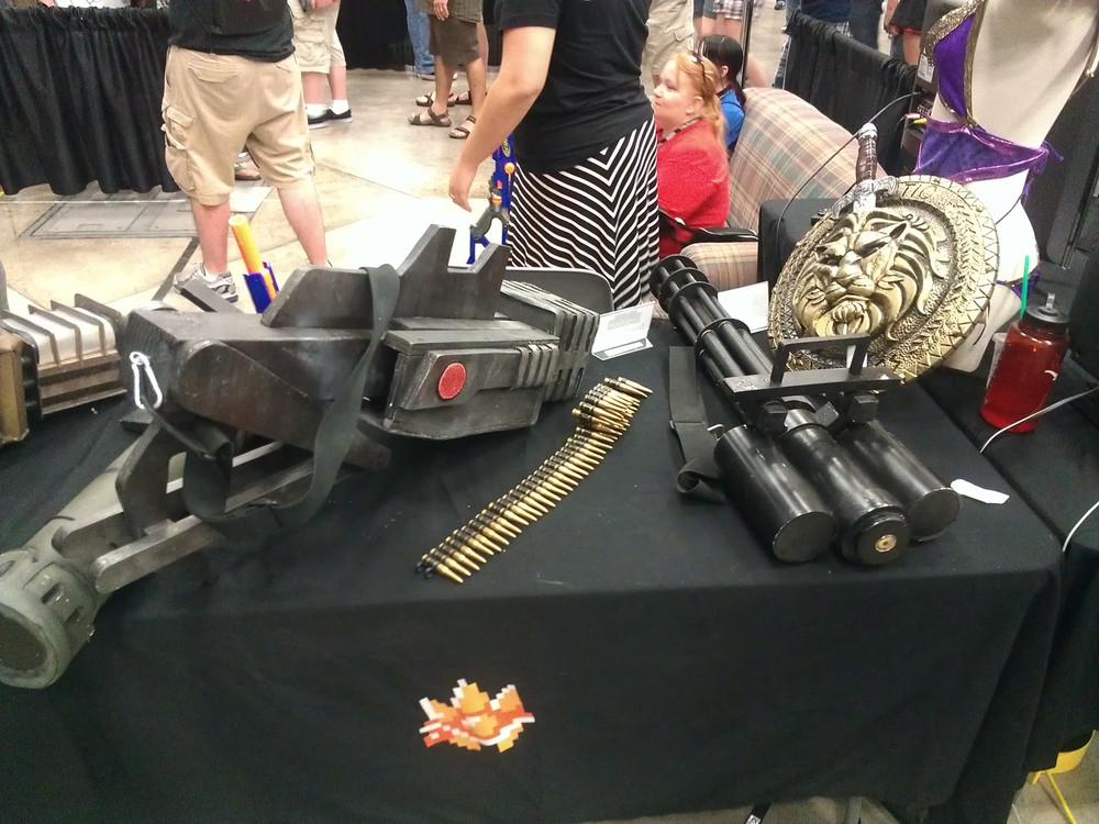 Immersion props table one.