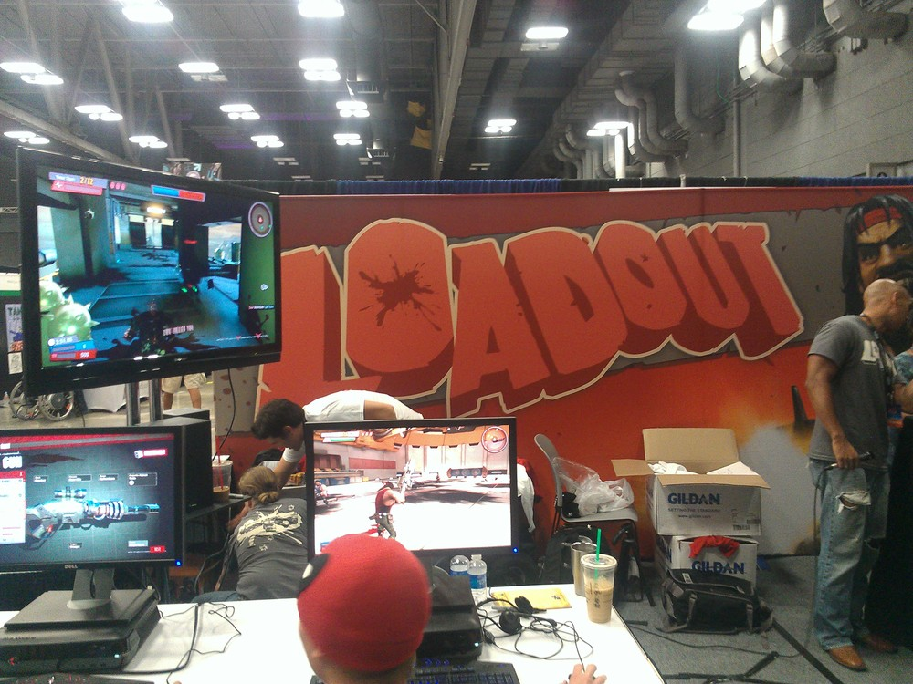 The Edge of Reality booth starring Loadout.