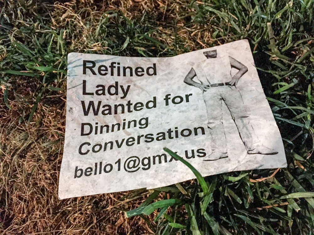 Refined Lady Wanted