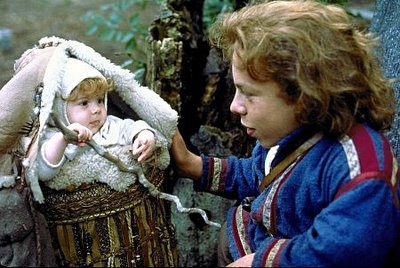 The awesomest movie of all time: Willow, where hazel trees were used to make magic staffs.