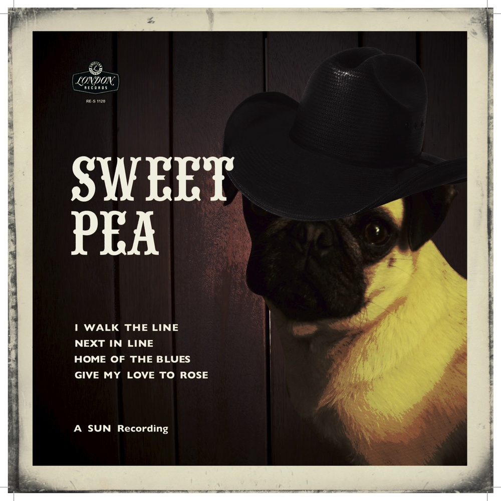 "Sweet Pea ""Walk the Line"""