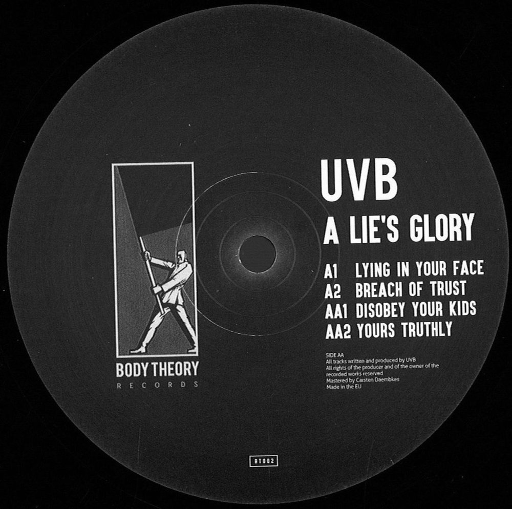 UVB - A Lie's Glory