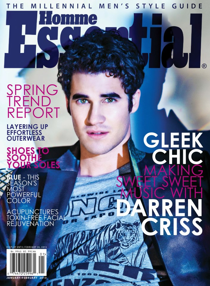Essential Homme Darren Criss.jpg
