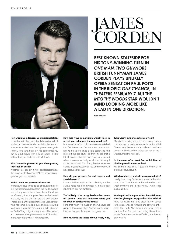 Style Profile  James Corden — Brandon Voss c19d6538b