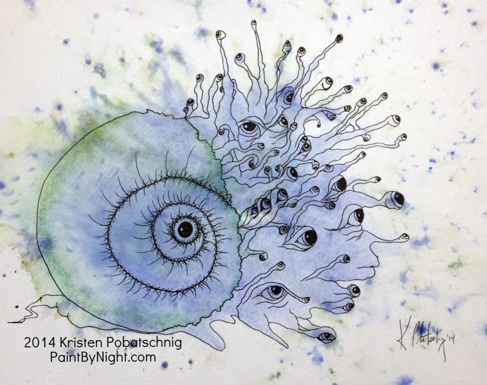Wandering Eyes (The Mollusk)