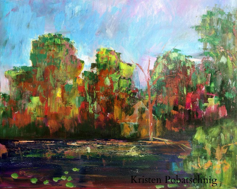 September on Pequawket Pond