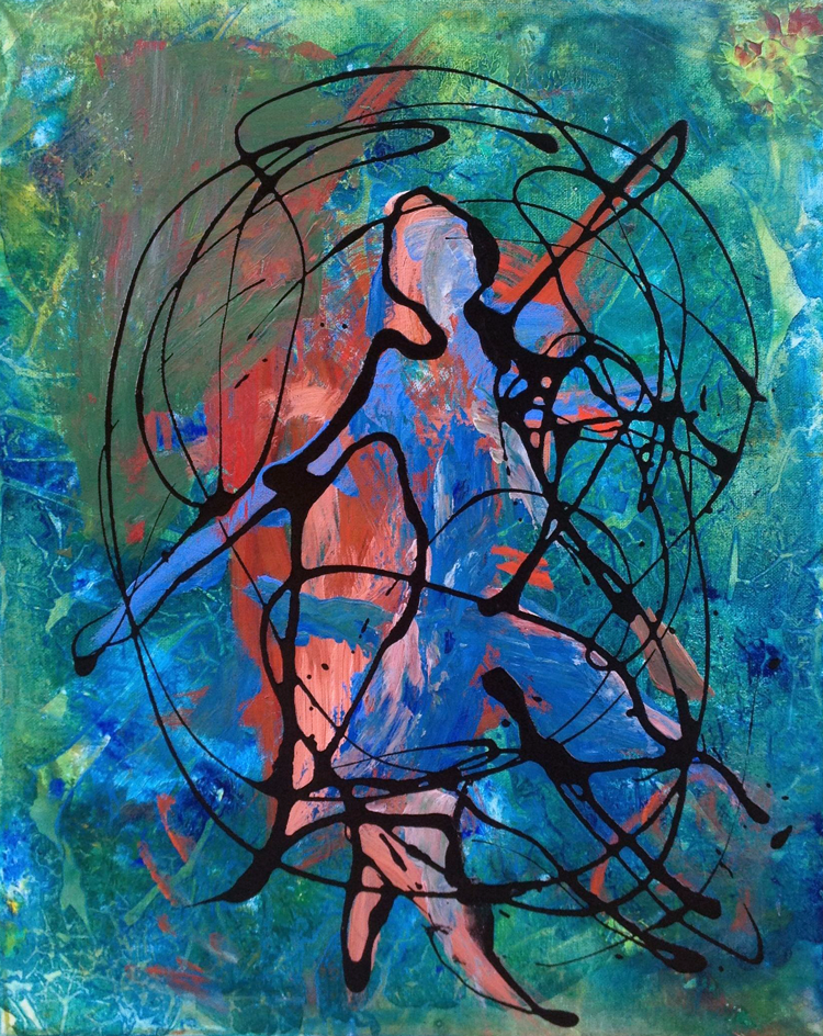 Painting with Dancer Momentum
