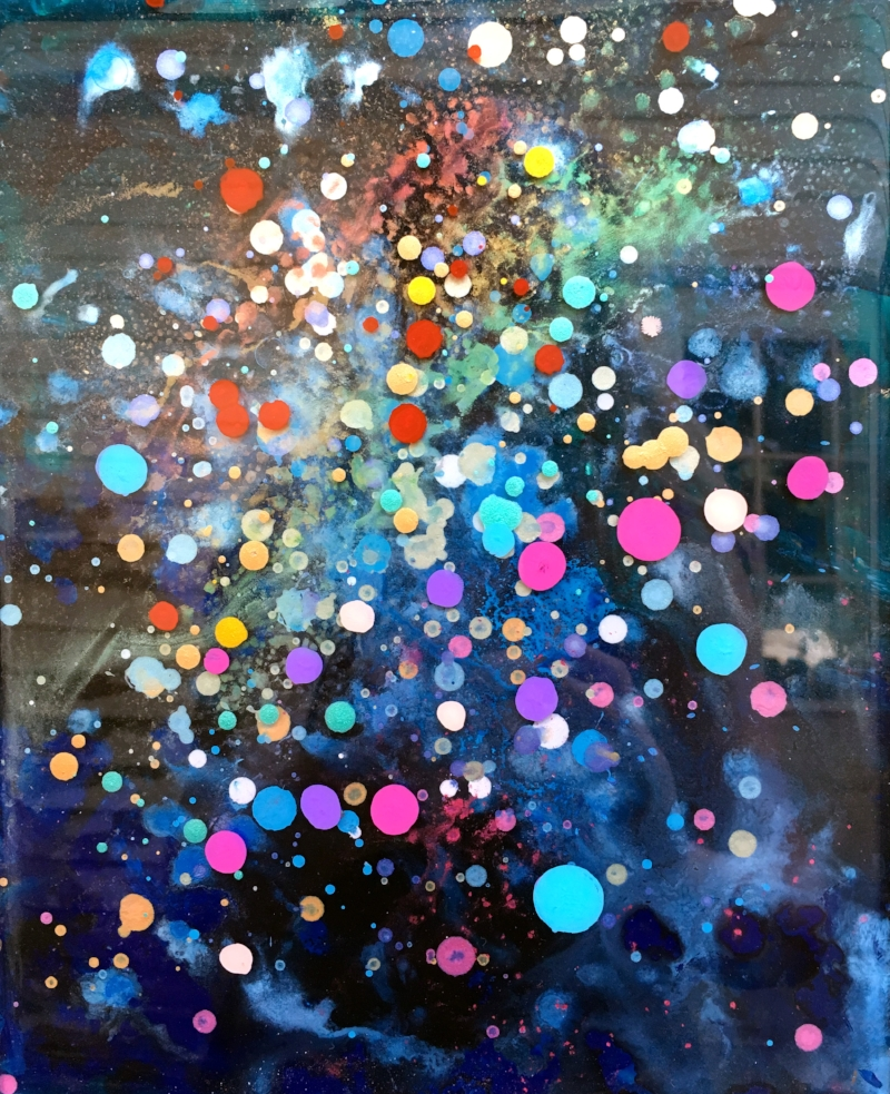 Rainbow Study on Plexiglass