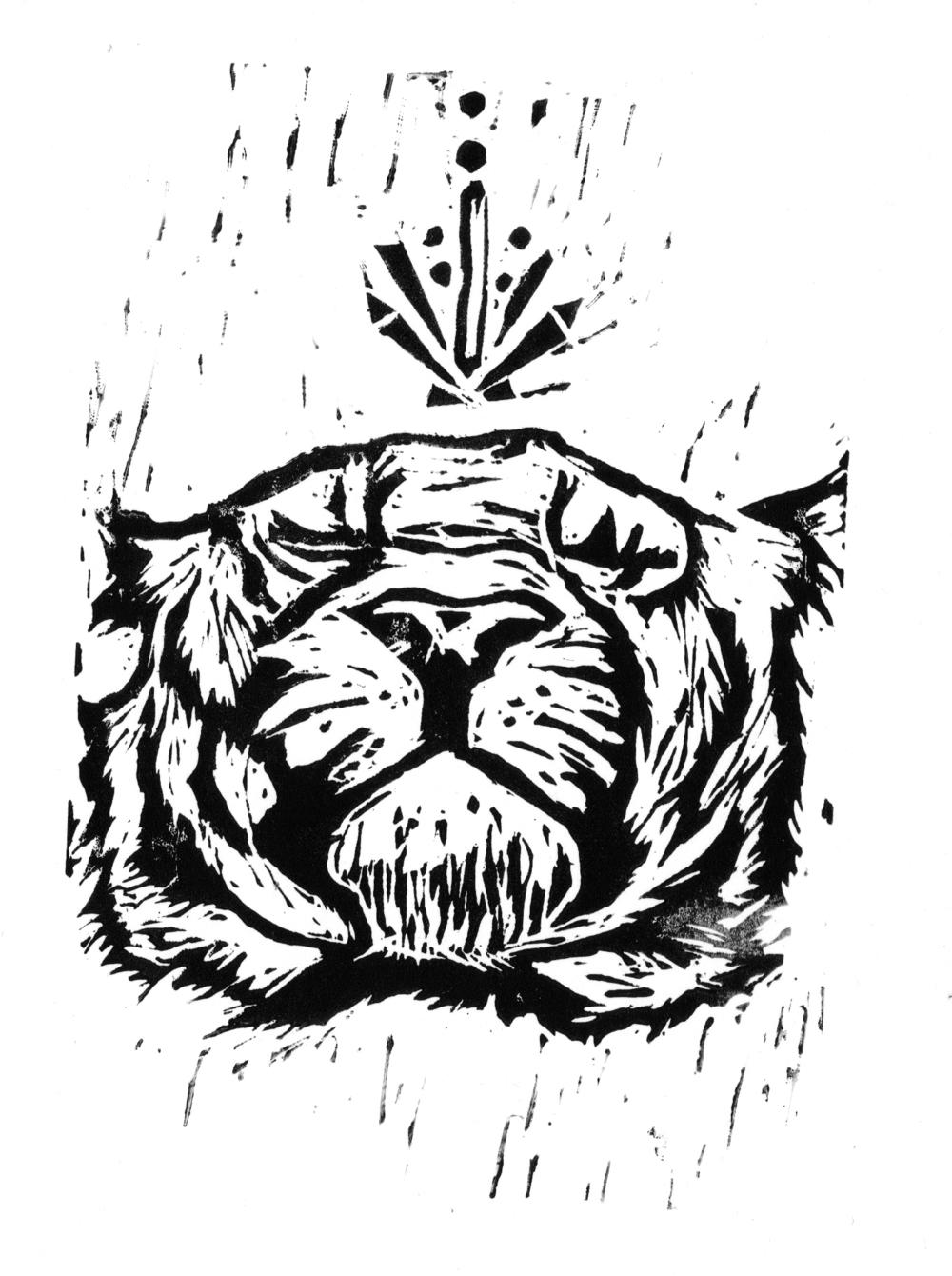 2015_01_05_Tiger_Lino_print_black