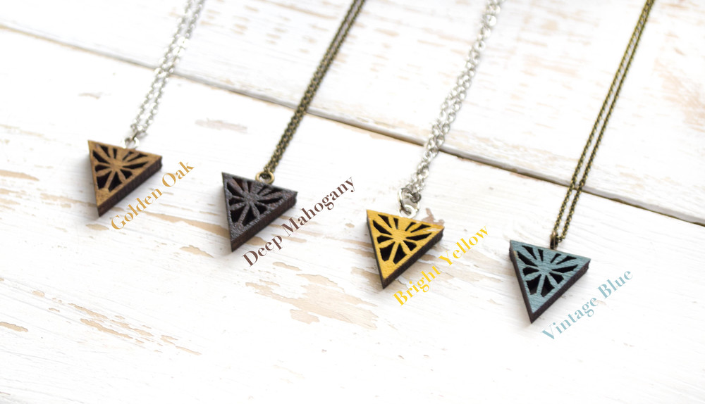 Teeny Tiny Starburst Necklaces - New Shades Added