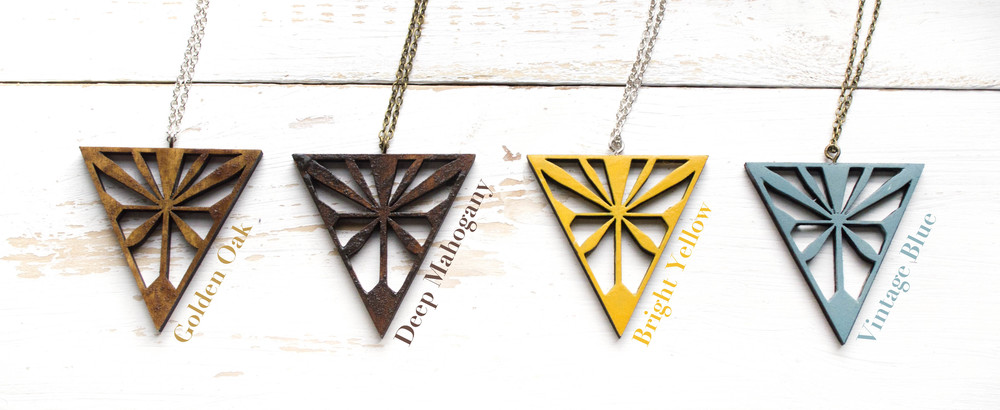Large Starburst Necklaces - New shades added