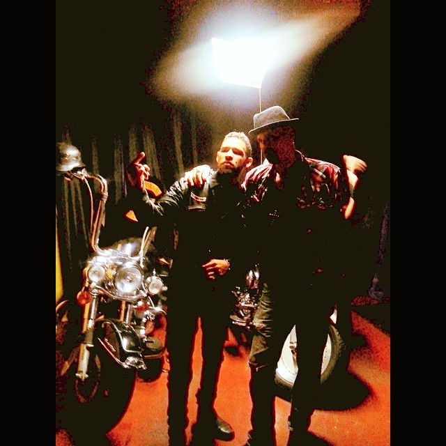 Being in a rock group is like being in a biker club; y'all all have to portray a certain image so they could see that the members band together.