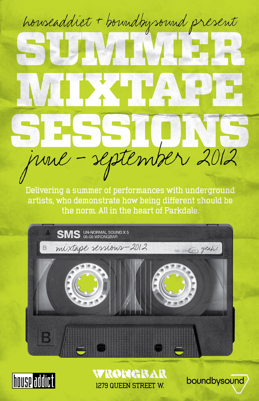 Wrongbar Summer Mixtape Sessions