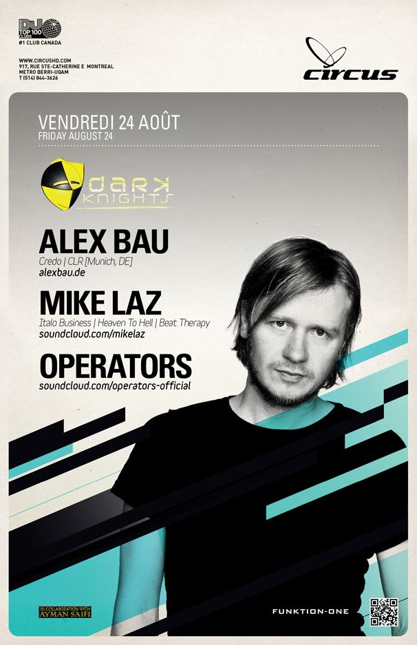 Alex Bau at Circus Afterhours