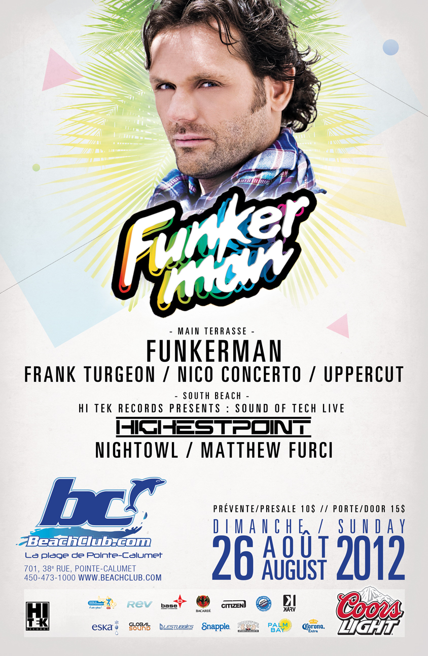 Funkerman at Beach Club