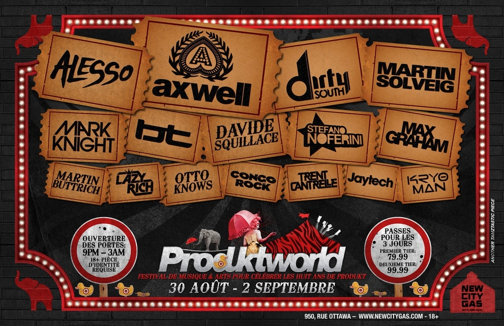 Produktworld at New City Gas