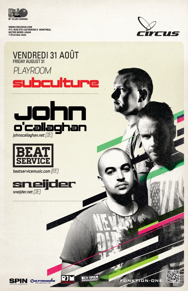 Subculture Night at Circus Afterhours