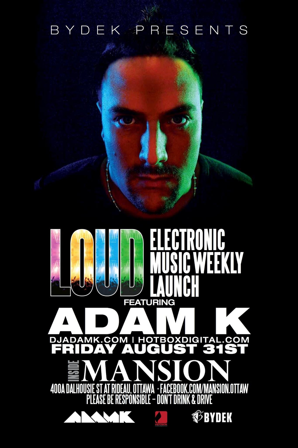 Adam K at Mansion Nightclub