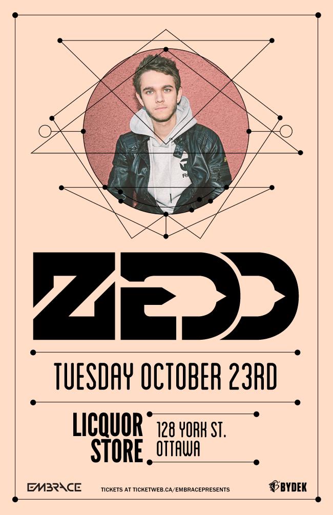 Zedd at Liquor Store