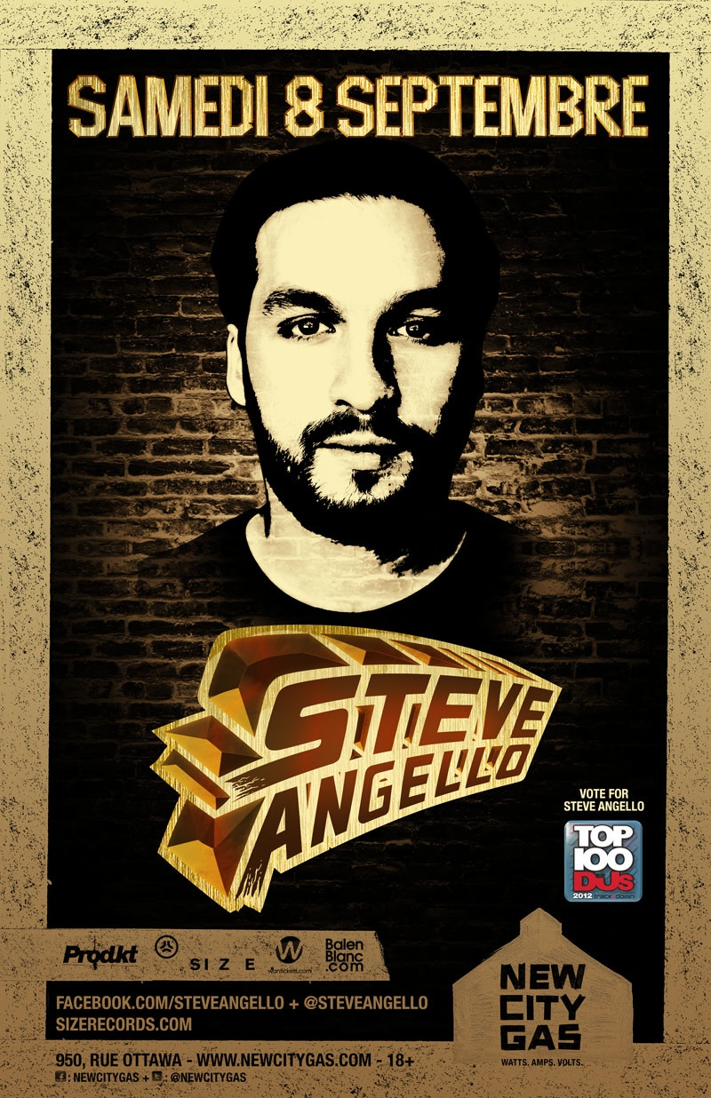 Steve Angello at New City Gas