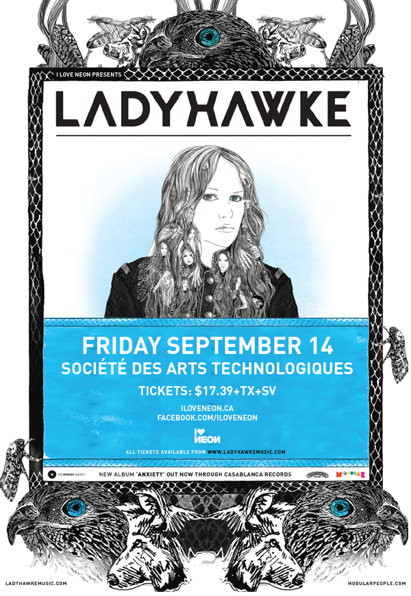 Ladyhawke at SAT