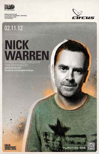 Nick Warren Montreal