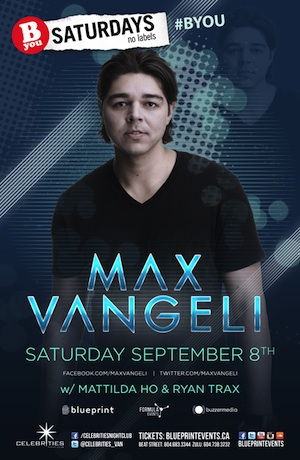 Max Vangeli Vancouver