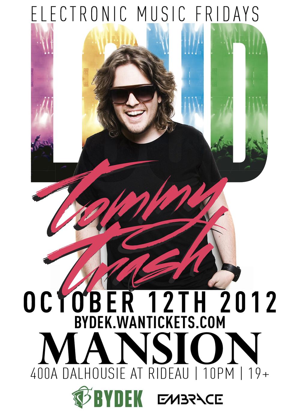 Tommy Trash at Mansion Nightclub Ottawa