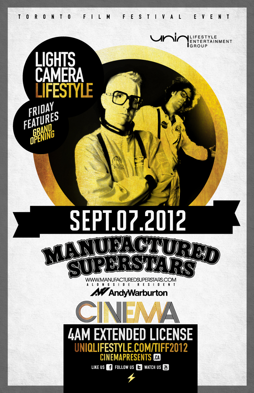 Manufactured Superstars at Cinema Toronto