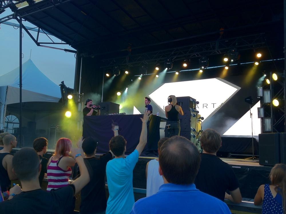 Felix Cartal at Ottawa Bluesfest
