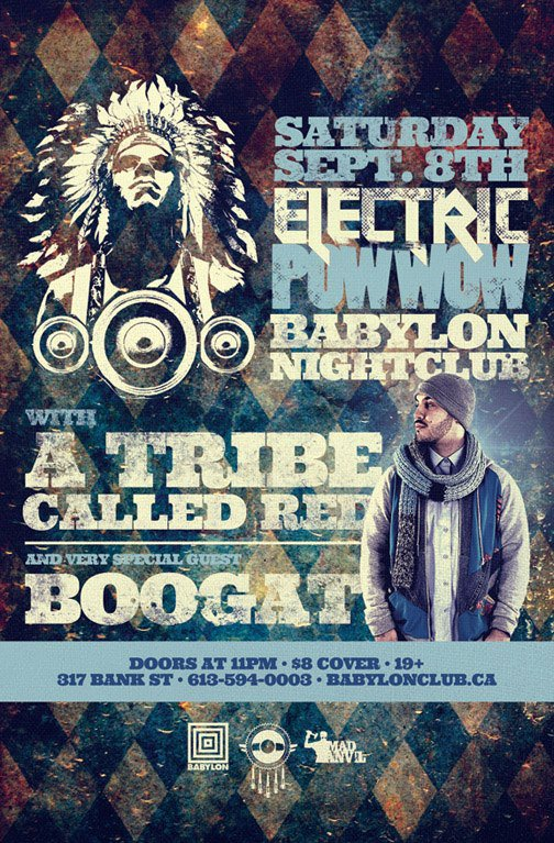 Electric Pow Wow at Babylon