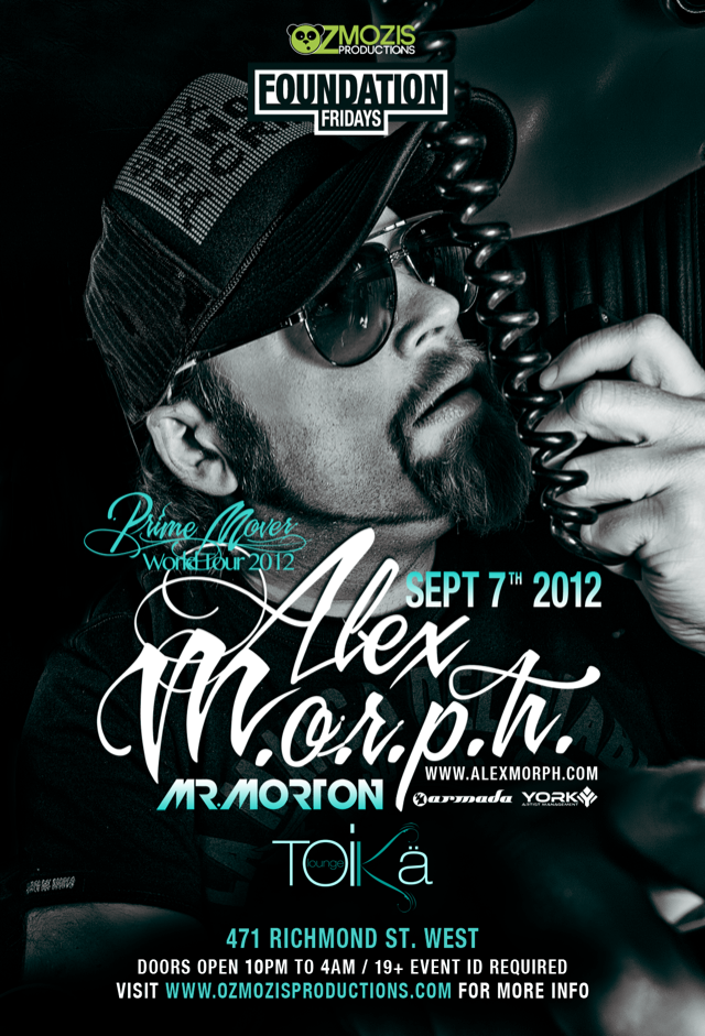 Alex MORPH in Toronto