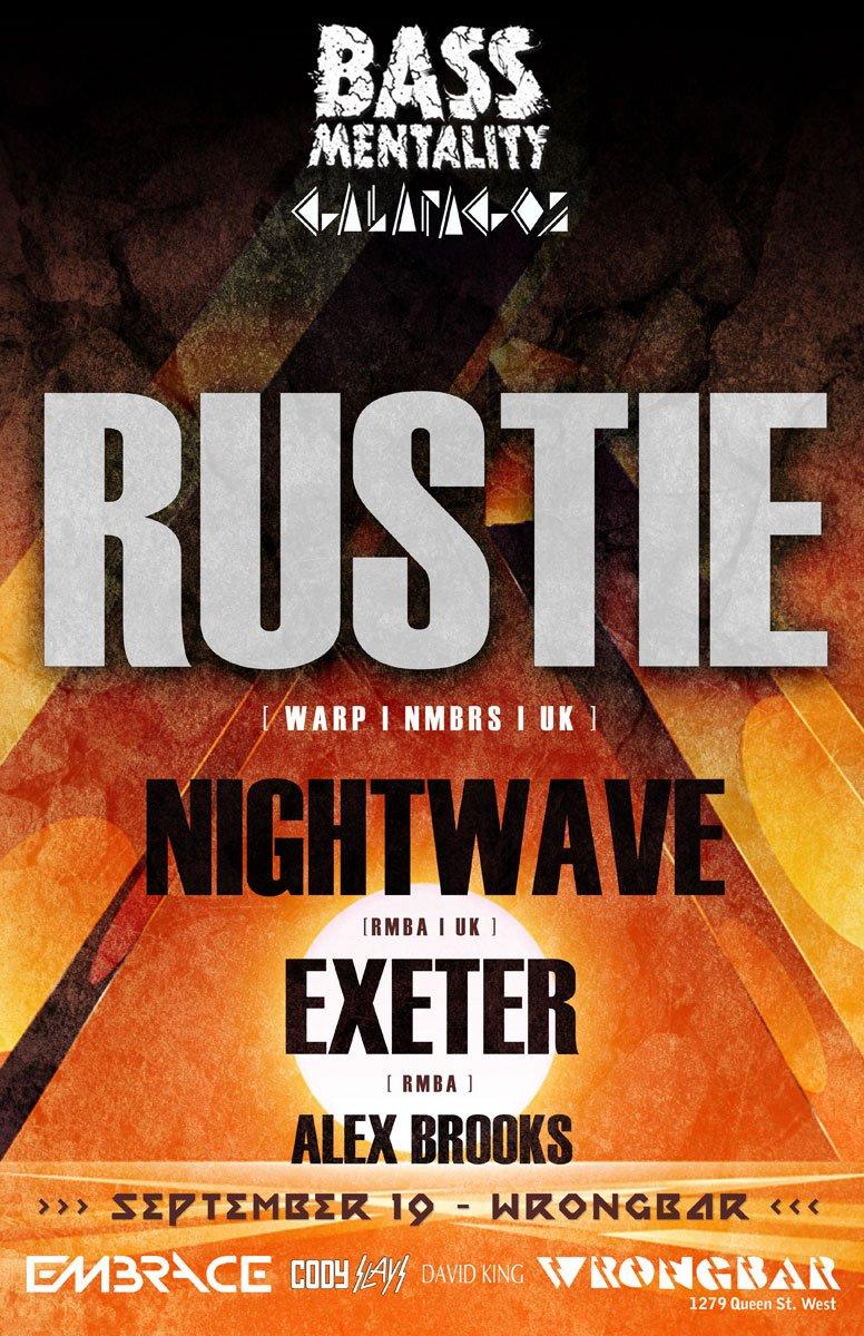 Rustie in Toronto