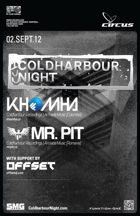 Coldharbour Night in Montreal