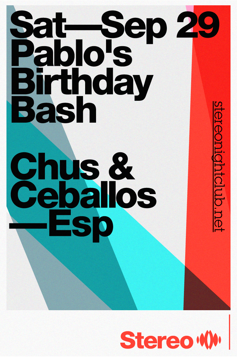 Chus & Ceballos at Stereo Montreal