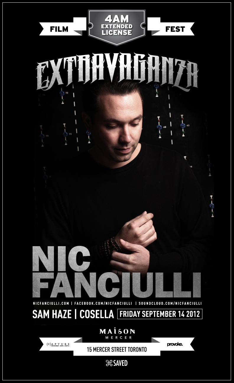 Nic Fanciulli at Maison Mercer Toronto