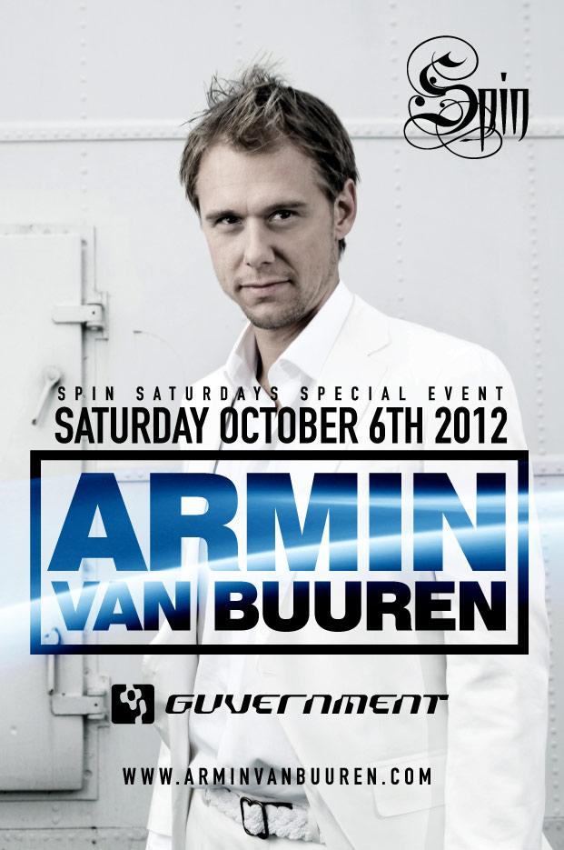 Armin Van Buuren in Toronto