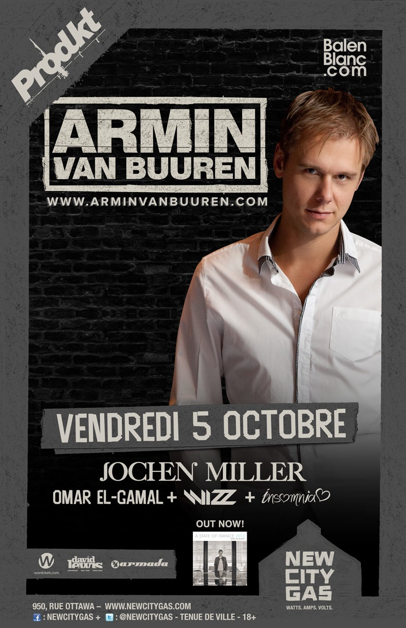Armin in Montreal