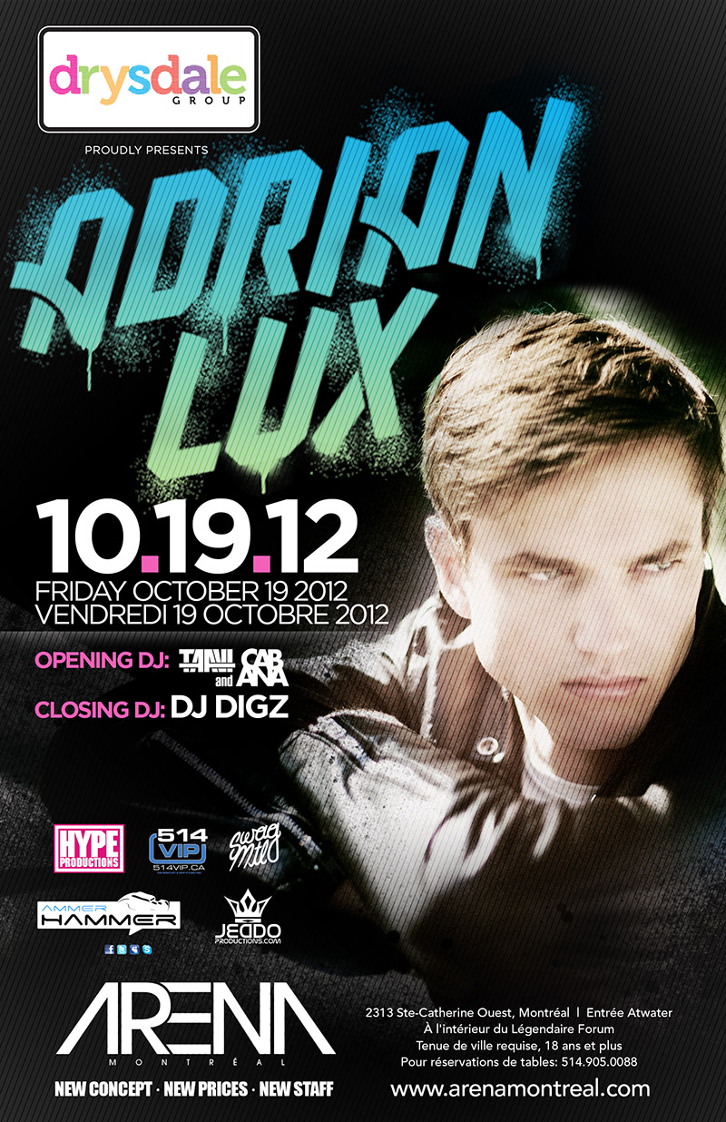 Adrian Lux Montreal