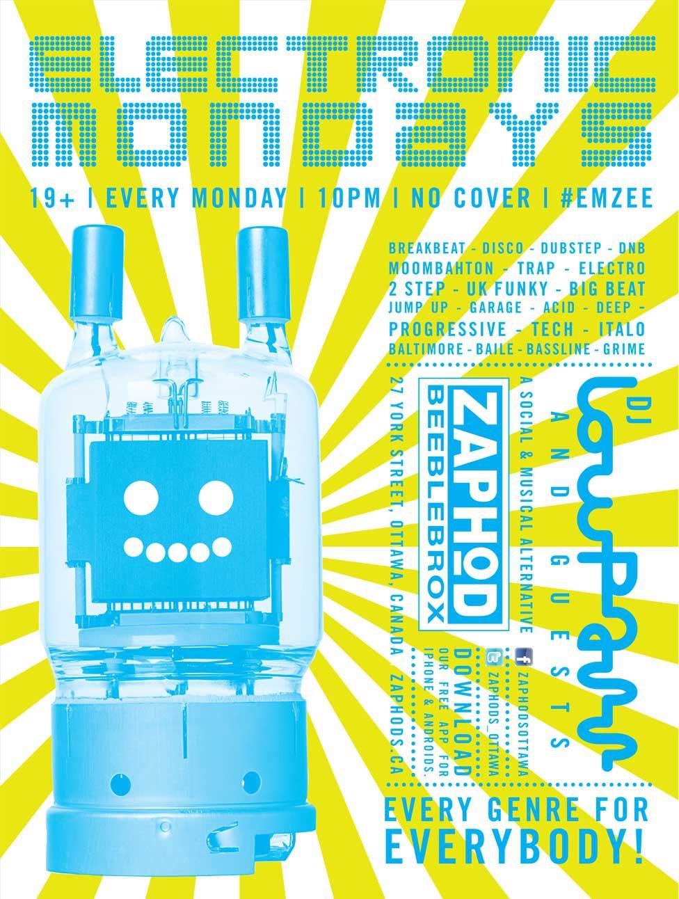 Electronic Monday's Zaphod's