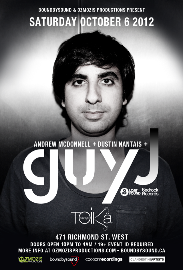 Guy J Toika Lounge Toronto