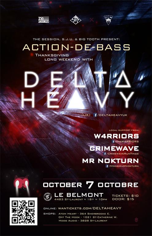 Delta Heavy Le Belmont