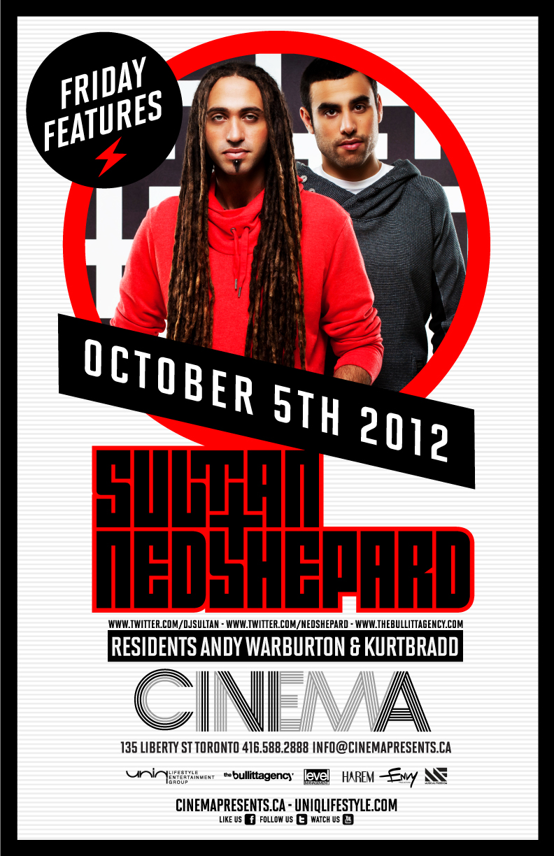 Sultan & Ned Sheppard Toronto