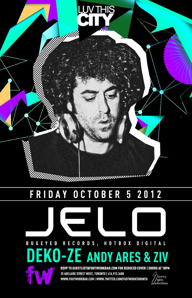 Jelo Footwork Nightclub Toronto