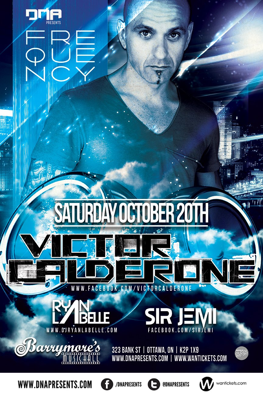 Victor Calderone at Barrymore's
