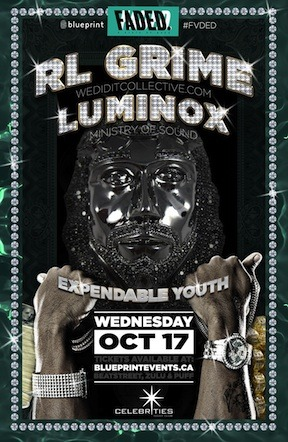 RL Grime Luminox Celebrities Nightclub