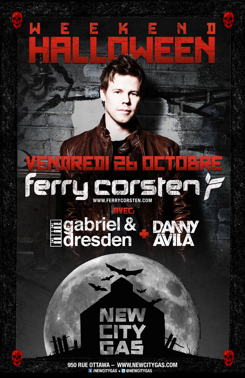 Ferry Corsten Gabriel & Dresden New City Gas Montreal