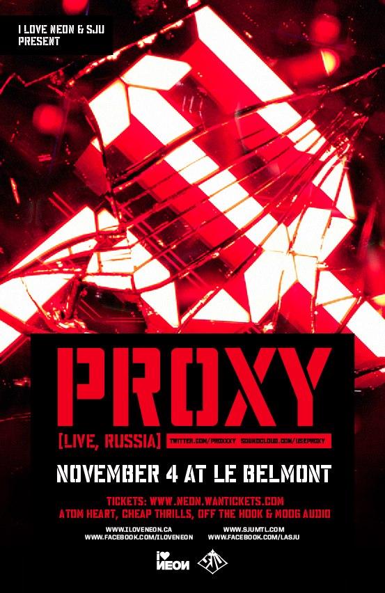 Proxy Montreal Le Belmont