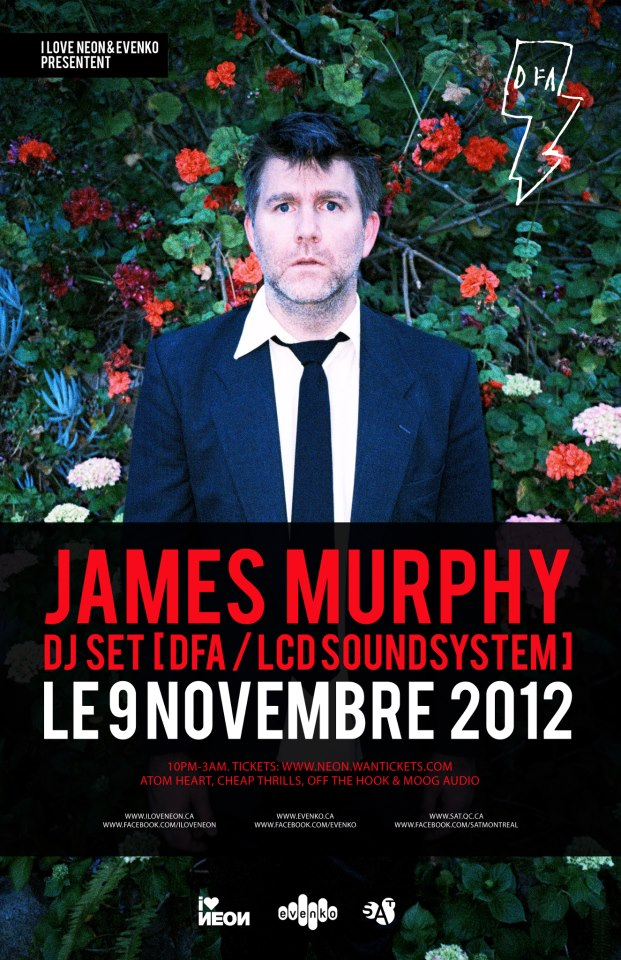james murphy lcd soundsystem Montreal SAT