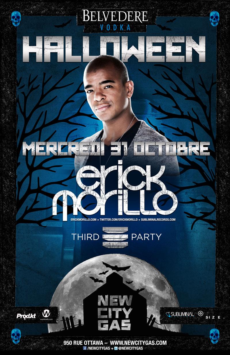 Erick Morillo third party New city Gas Montreal